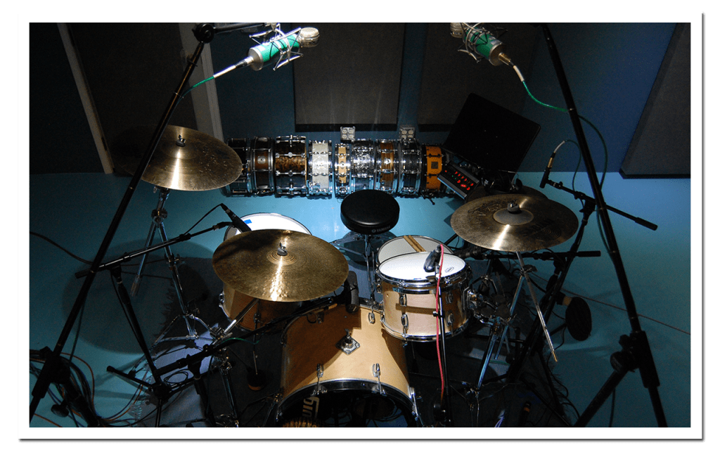 Chris Brush Records Your Drums at PlehtoraTone Studio