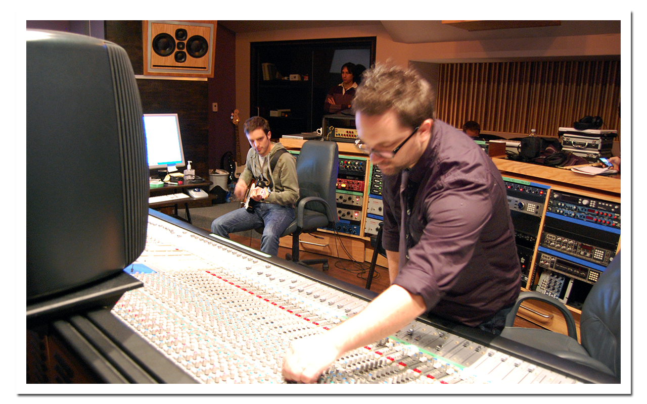 Chris Brush is an Experienced Engineer and Producer